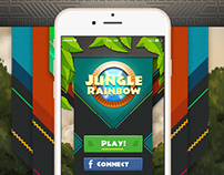 Jungle Rainbow - Game UI Design Concept