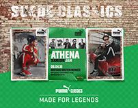 PUMA x ATHENA Suede Classics Campaign 2018