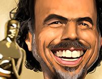 Alejando G. Iñarritu Cartoon!