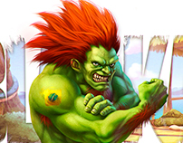 Blanka (Hue BR) Udon Capcom Fighting Tribute (artbook)