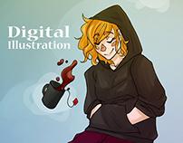 Digital Illustration 2014-2015