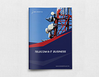 Telecom Services Brochure Template - 12 Pages