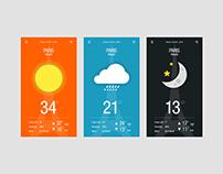 DailyUI #037 - Weather App