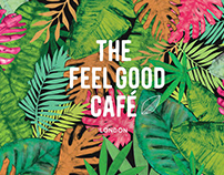 Pattern design for THE FEEL GOOD CAFE LONDON