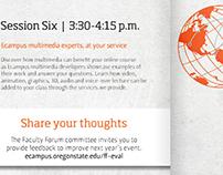 Oregon State University Ecampus Faculty Forum Program