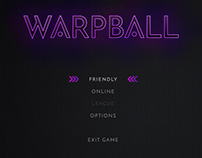 WIP - Warpball - Game UI Design