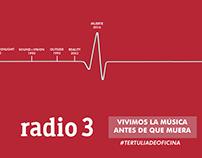 Radio 3 - Vivimos la música antes de que muera