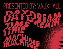 Daydream Time Machine - Gig Poster, The Press