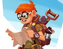 Treasure hunter!)