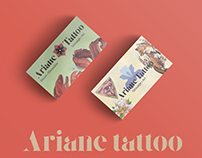"Logo ""Ariane Tattoo"" [essai]"