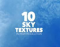 Sky Textures x10