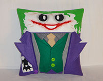 Handmade Batman The Dark Knight Joker v1.43 Pillow