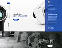 Carl Zeiss - corporate portal