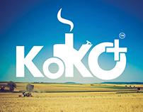 Koko Plus Tractor Service Logo Design