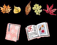 Fall item set