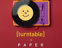 Paper Turn-Table