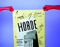 Horde exhibition poster