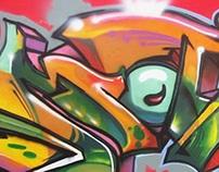 [Graffiti] Motul Stunt Fes 2015