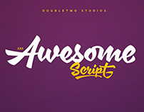 XXII AwesomeScript - Font