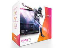 SaskTel maxTV Steam packaging
