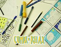 Comix & Relax workshop - improvisation - comissions