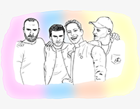 Illustration - Coldplay