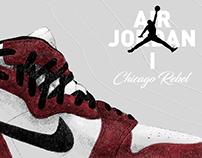 Air Jordan 1 Chicago Rebel