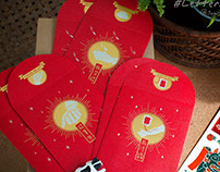 給我錢紅包袋設計 Give me money- red envelope
