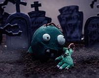 Zé Ninguém - Zombie - Clay Art