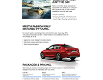 BMW Cars - Onepager