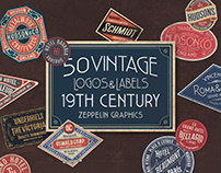 19th Century Vintage Labels