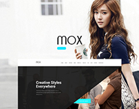 Mox - Single & MultiPage PSD Template