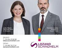 Anuncio Lozano Schindhelm.