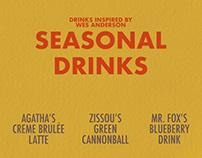 Wes Anderson Inspired Seasonal Menu