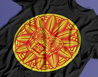 Quetzalcoatl T-shirt Design