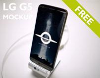 LG G5 Free Mockup