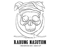 Logo - Rahung Nasution, Indonesian Addict