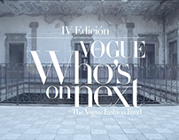 Vogue Who's On Next 2016 Semifinalists film