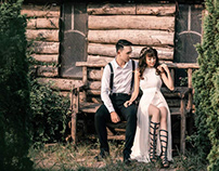 Ely wedding - Chụp ảnh cưới ở phim trường Santorini
