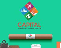 Capital Logistics Branding