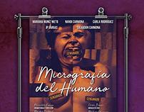 Micrografía del Humano - Diseño de cartel