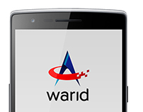Warid Selfcare Application UI