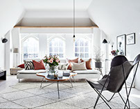 Apartment in Gothenburg by Bjurfors Göteborg