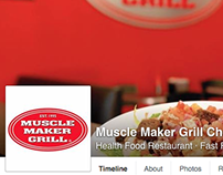 Social Media Marketing for Muscle Maker Grill