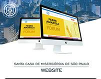 WebSite Responsivo - Santa Casa de São Paulo