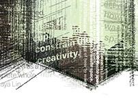 Reimagining architecture poster design