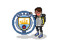 Barclays Premier League (Pixel Art)