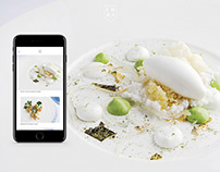 LDRS X SAXON Restaurant Website