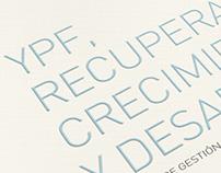 YPF / Libro Institucional diseñado por Tholon