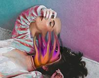 Monsters Inside Me - Photoshop Digital art